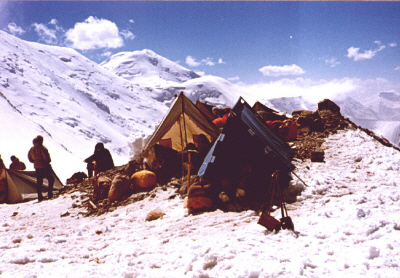 Tábor a hegyen