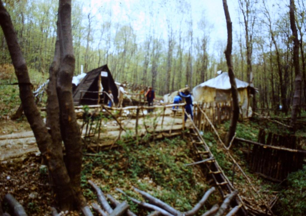 Tábor a Pilisnyeregben (1980-as évek)