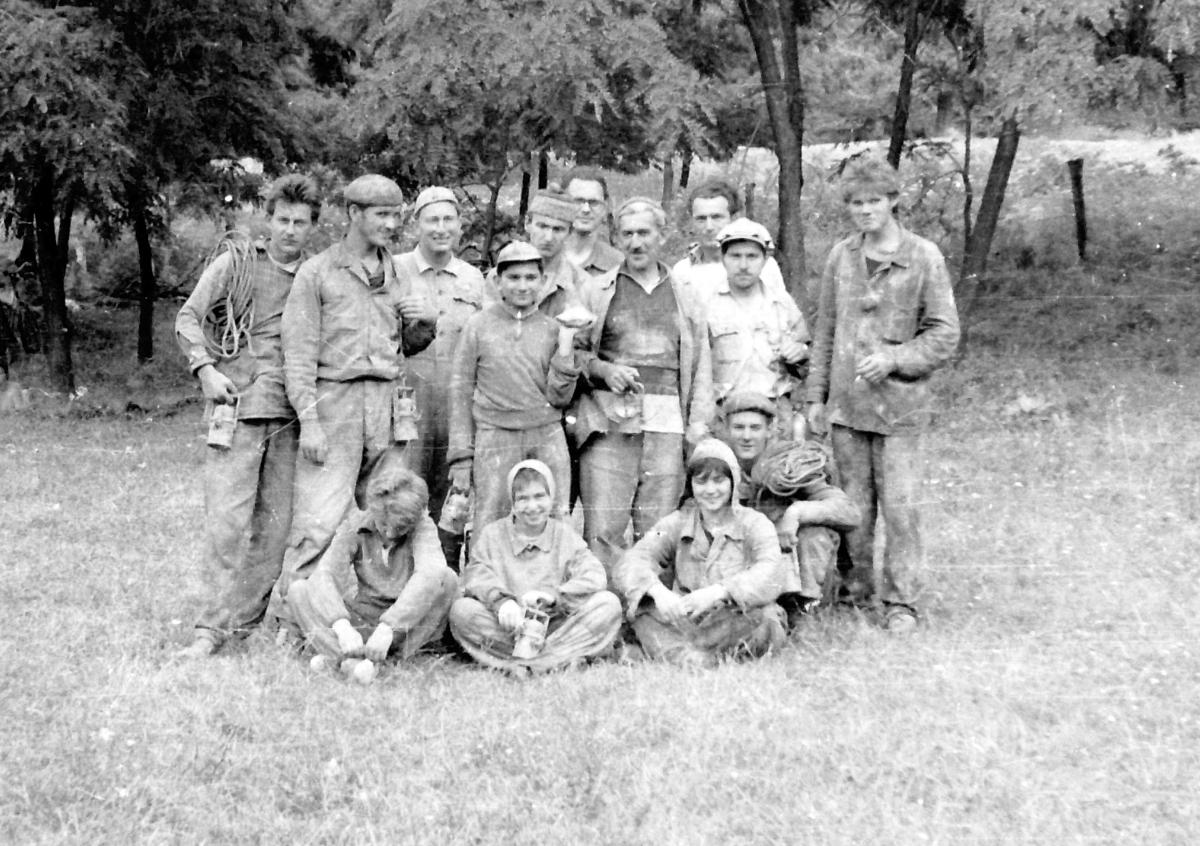 A klastrompusztai kutatótábor résztvevői