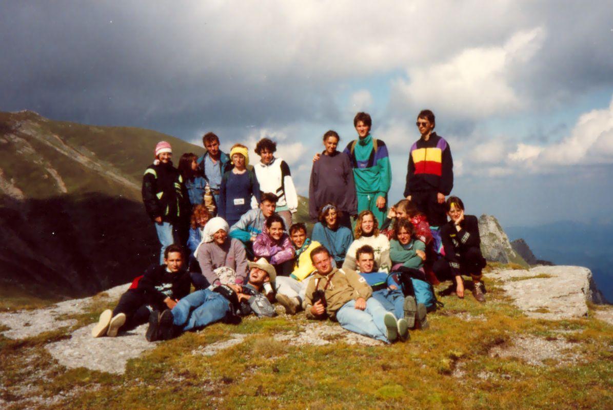 1993-ban a Bucsecsben (Brassói-havasok)