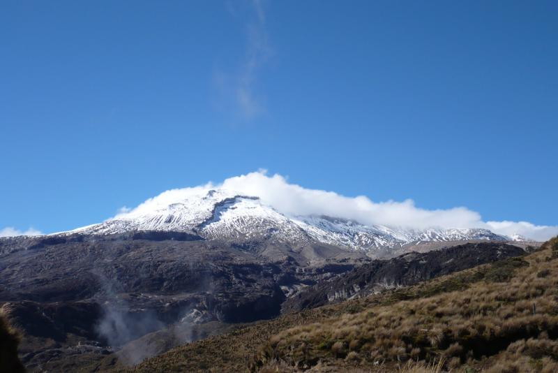 Nevado del Ruiz (Forrás: Wikipedia)