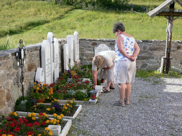 Tanas temetője (részlet)