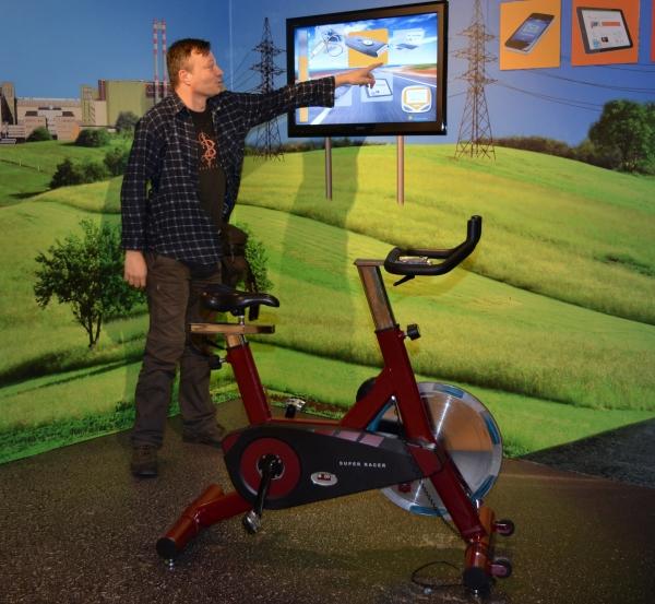 Bicikli mint áramforrás. Próbára tehetjük teljesíményünket