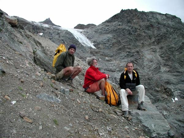 2004-ben egészen a gleccser tövéig jutottunk