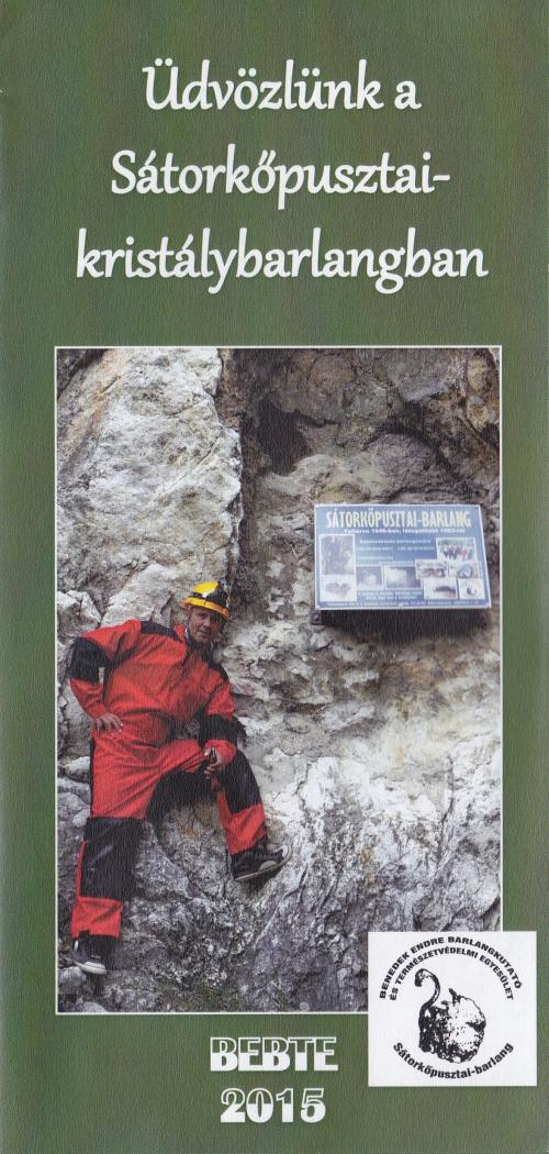 Brosúra a Sátorkőpusztai-barlangról 50 Ft