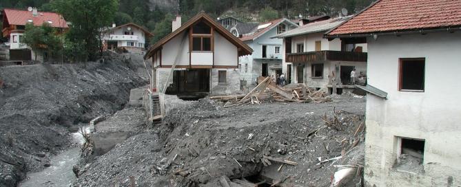 2005-ben a pusztítás utáni állapotok