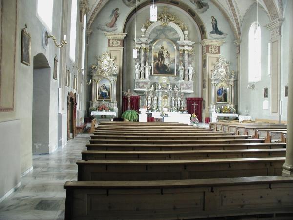 Laasi templombelső