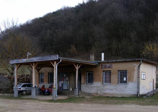 A Rákóczi-barlang fogadóépülete