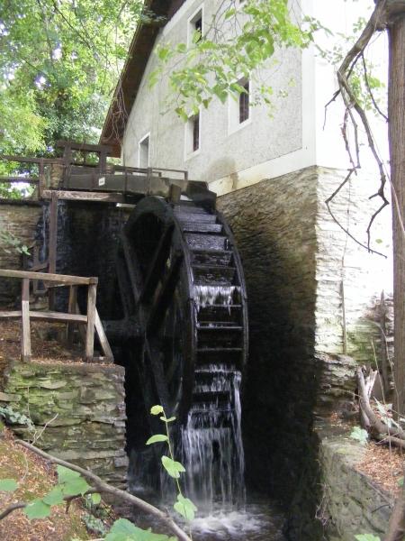 A vízimalom ma is működőképes