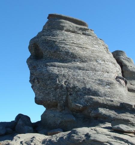 Szfinx a Bucsecs-platón