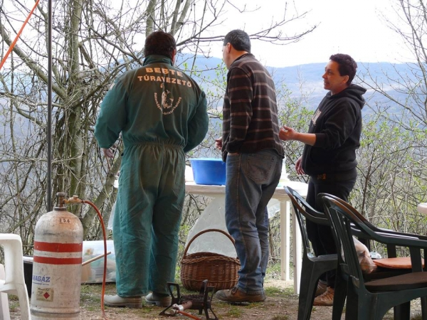 Készül az ebéd (Szvetnyik Csaba, Gyarmati György, Brumár Éva)