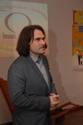 Dr. Surányi Gergely geofozikus, a müontomográfia szakértője