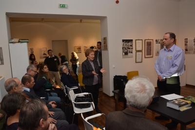 Dr. Jakucs Lászlóné, a rendezvény díszvendége megköszönte a szervezést