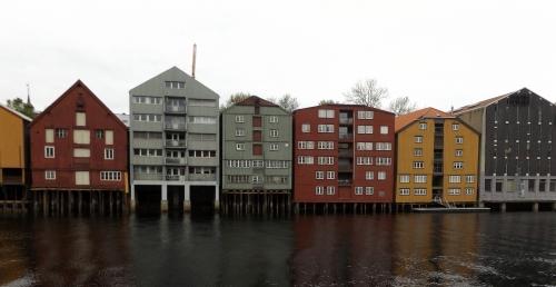Trondheim kereskedőházai