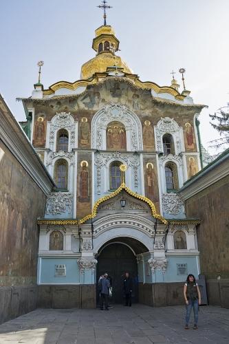A Pecserszkij Lavra bejárata
