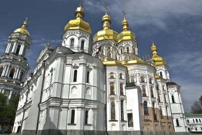 Pecserszka Lavra - részlet a kolostorkomplexumból