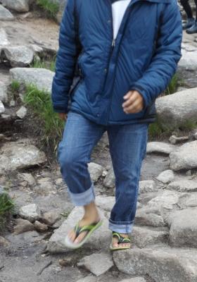 A nem megfelelő öltözék - lábbeli - miatt sok a baleset