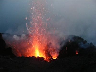A Stromboli 2008-as túránkon elemében volt
