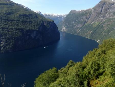 A Geiranger lenyűgöző szépségét az UNESCO világörökségi címmel jutalmazta