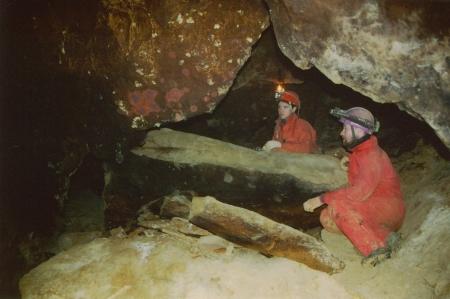 Részlet a barlangból