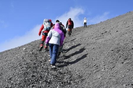 Útban a 2001-es kráterre