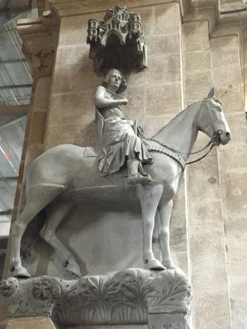 A bambergi lovas szobra